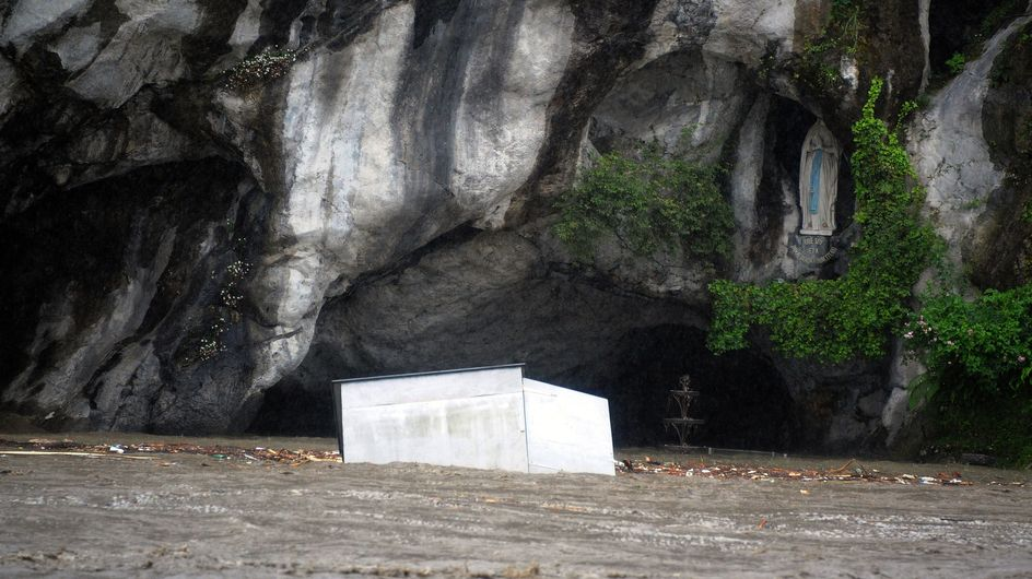 Sud-ouest : Le pèlerinage de Lourdes menacé par les intempéries