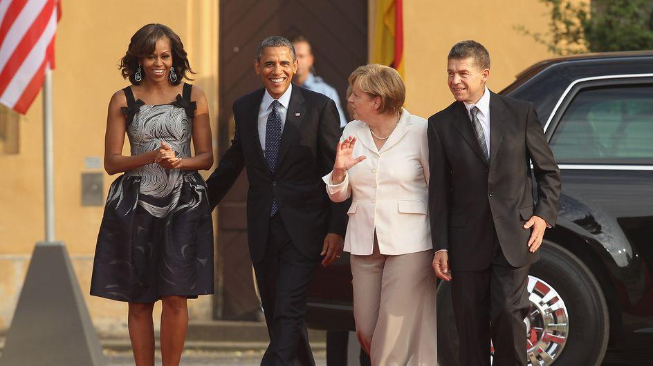 Michelle Obama : Sublime en Carolina Herrera (Photos)