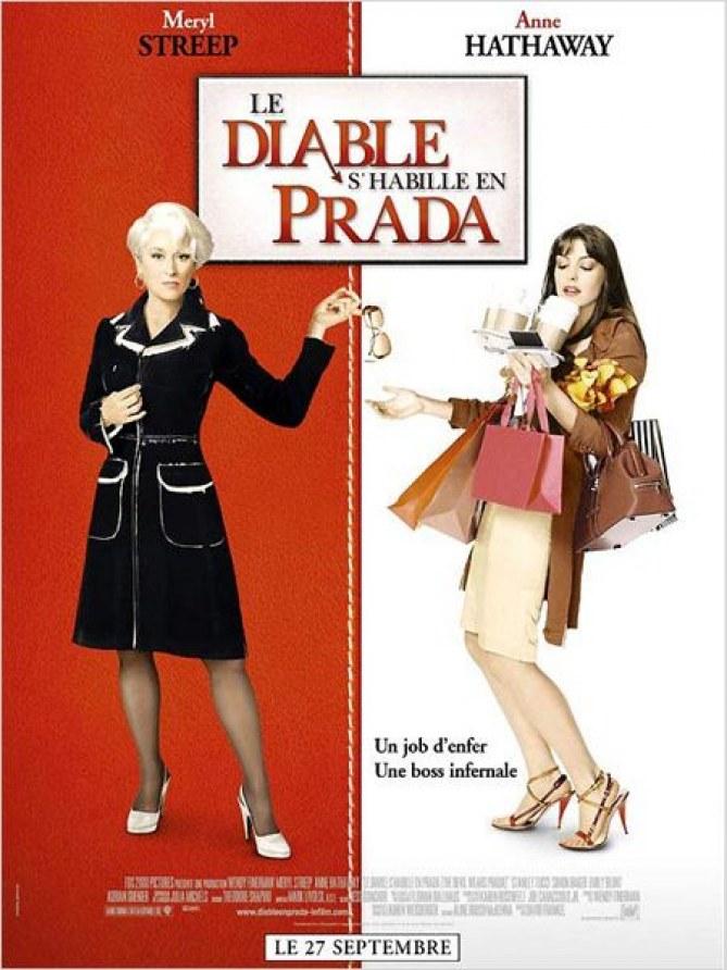 L'affiche du film Le Diable s'habille en Prada
