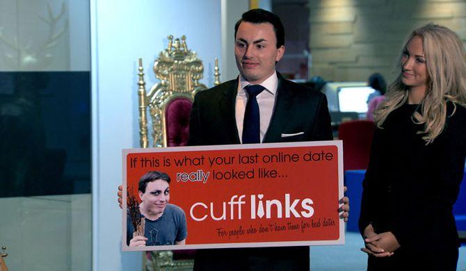 Team Evolve created a site called Cufflinks