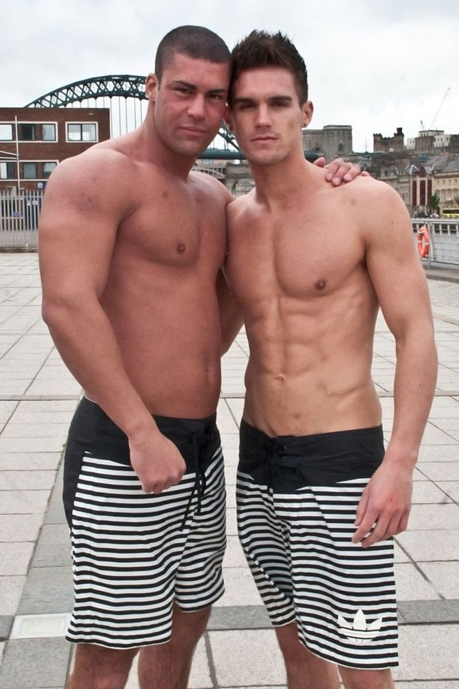 Geordie Shore cast mates Jay Gardner and Gary Beadle