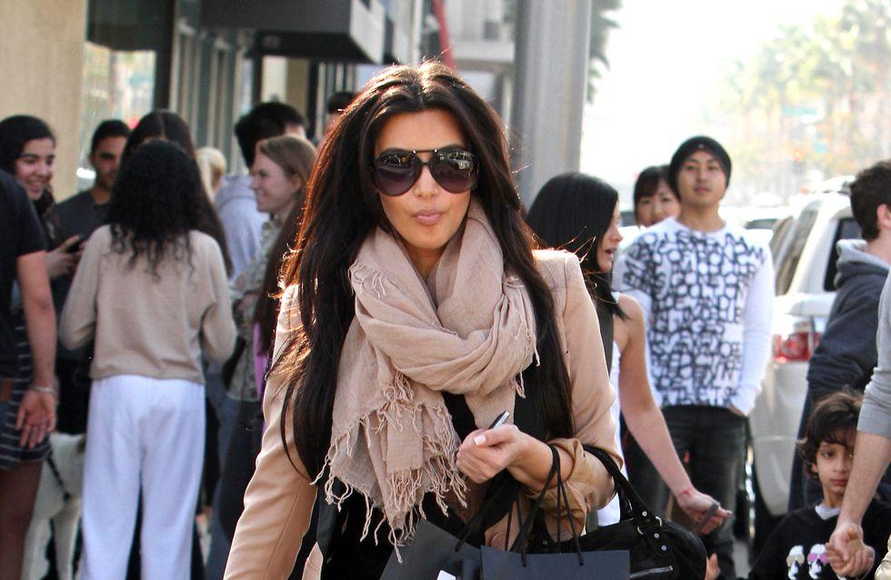 Kim Kardashian : Enceinte et en bikini quelques jours avant son accouchement