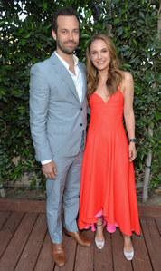Nathalie Portman et son mari Benjamin Millepied