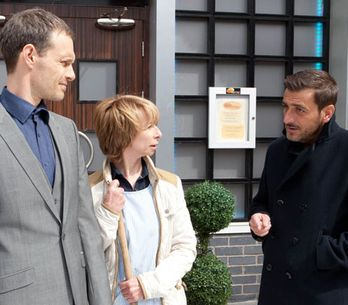Coronation Street 01/07 - Nick threatens Peter as David's plan starts to work