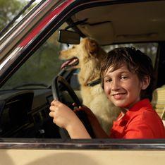 Saoul, un Australien laisse son fils de 7 ans conduire