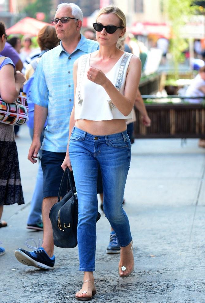 Diane Kruger bague de fiançailles