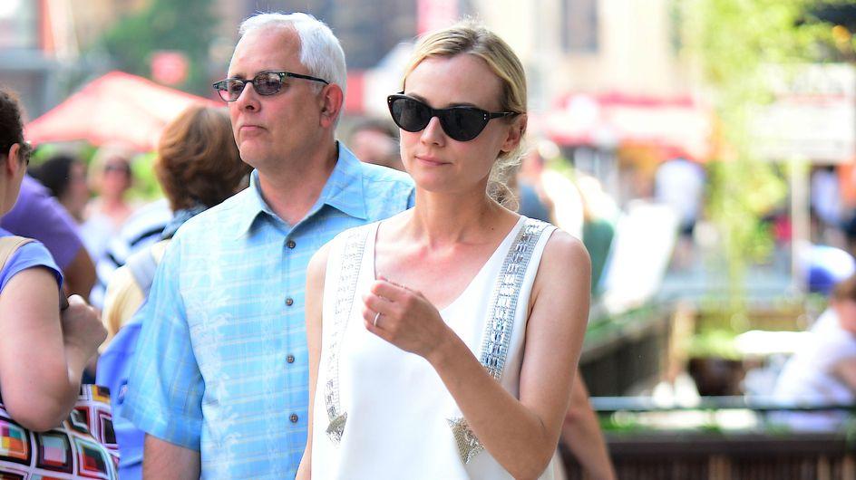 Diane Kruger : La bague au doigt ! (photos)