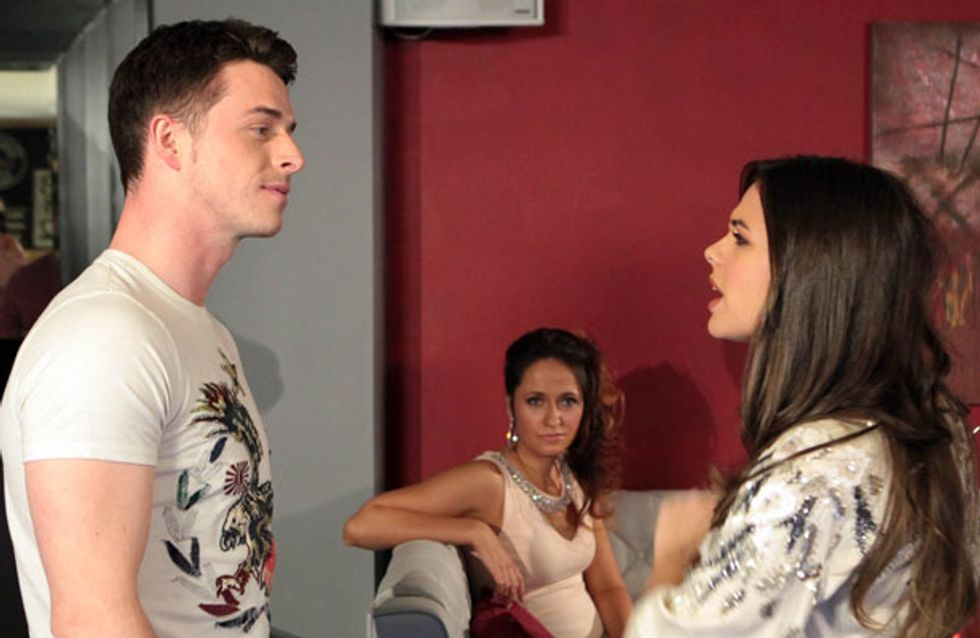 Coronation Street 10/07 - Katy catches Ryan with another woman