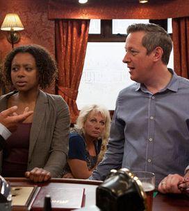 Coronation Street 12/07 - Lloyd accuses Paul of being a racist