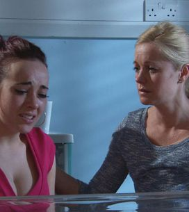 Hollyoaks 12/07 - Baby Katy is rushed to hospital