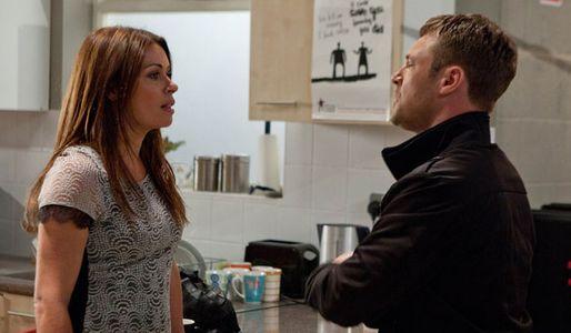 Carla's unimpressed with Rob's behaviour