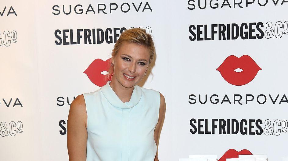 Maria Sharapova : Un joli bonbon acidulé pour présenter ''Sugarpova''