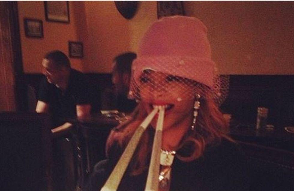 Rihanna : Grosse fumeuse de joints à Amsterdam (Photos)