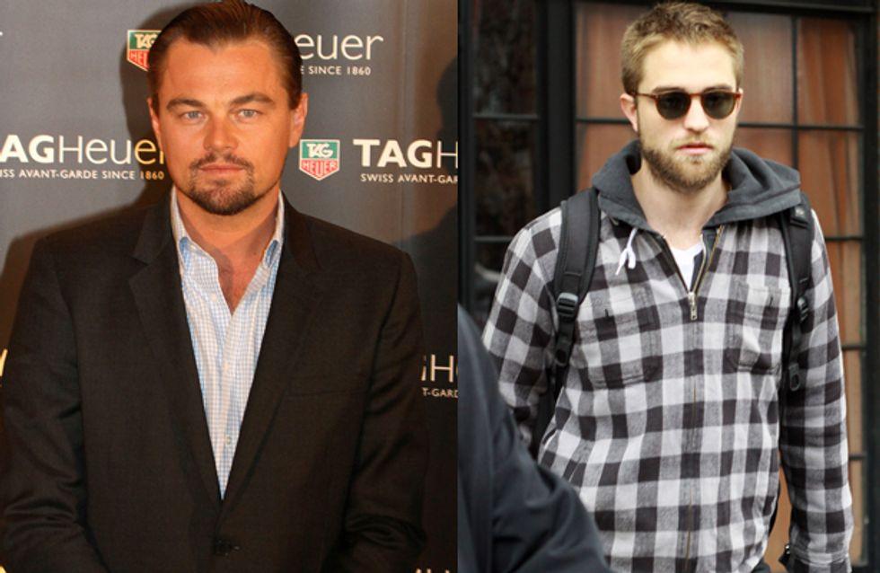 DiCaprio consola Pattinson