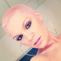 Jessie J hair: Singer dyes her hair baby pink