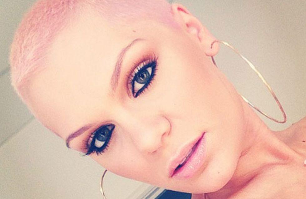 Jessie J hair: Singer dyes her hair baby pink