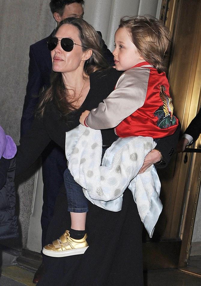Angelina Jolie et Knox