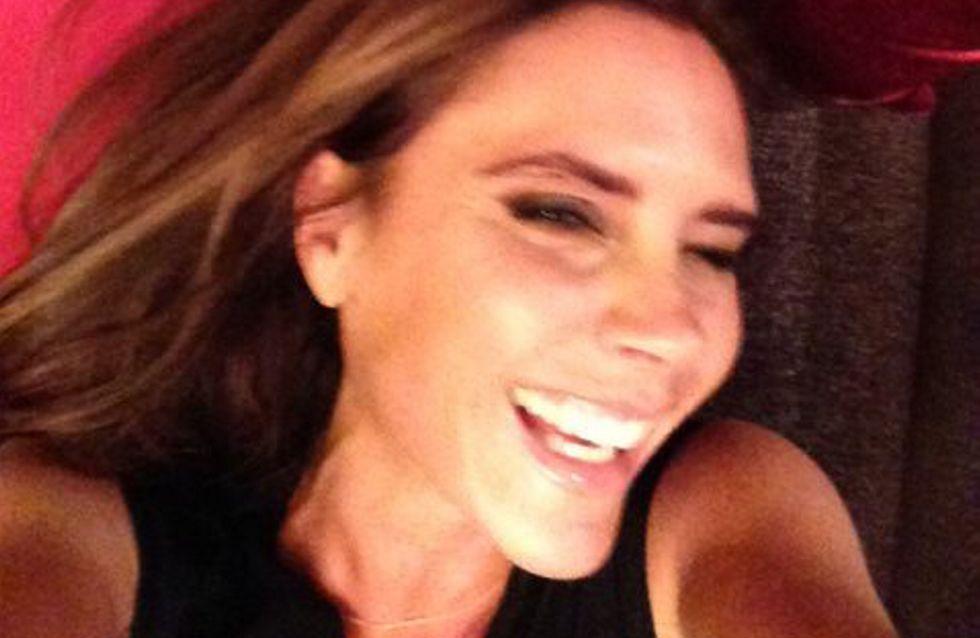 Beckham: Victoria sorride.Ecco la foto