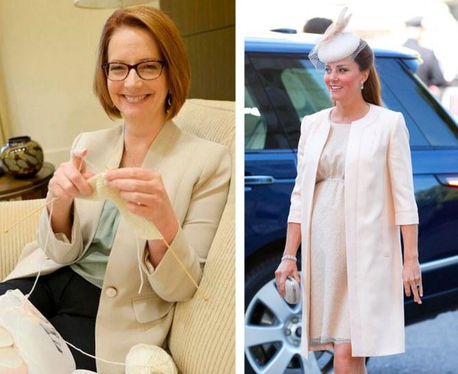 Kate Middleton : La première ministre australienne tricote pour le bébé