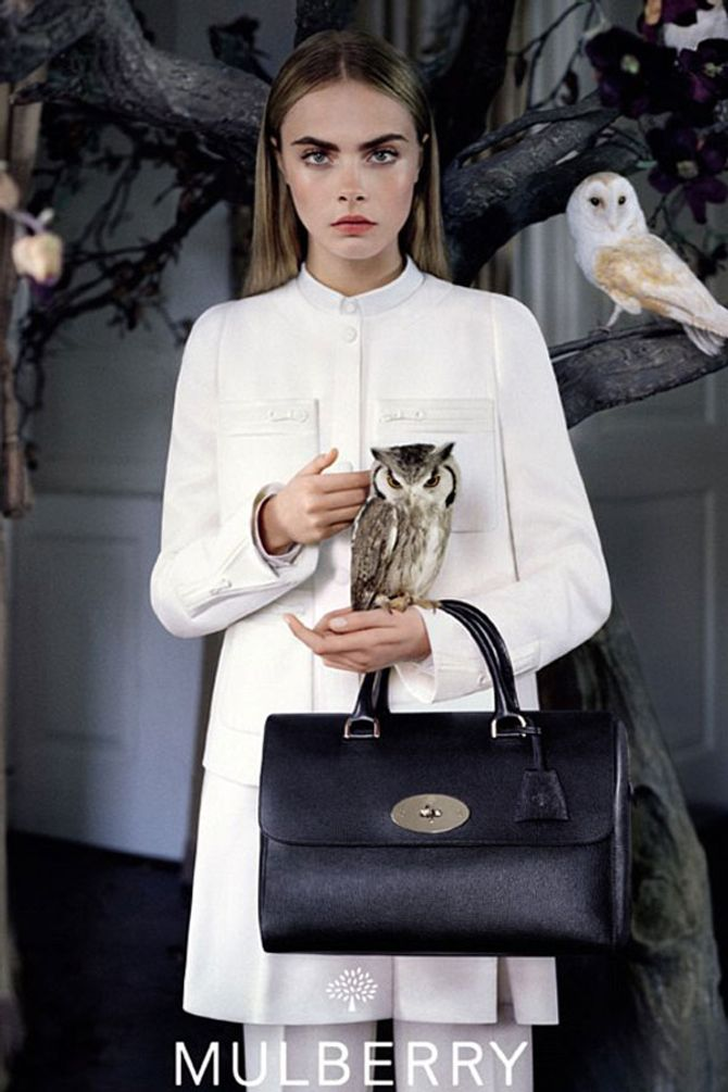 Cara Delevingne first-look Mulberry campaign pics