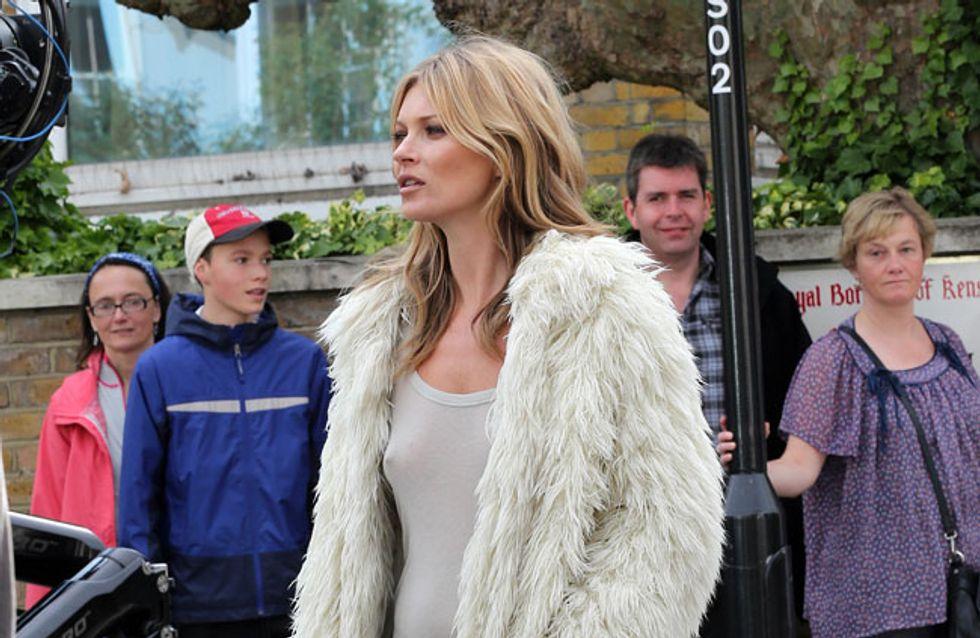 Zu alt? Kate Moss bekommt Körper-Double für Shooting