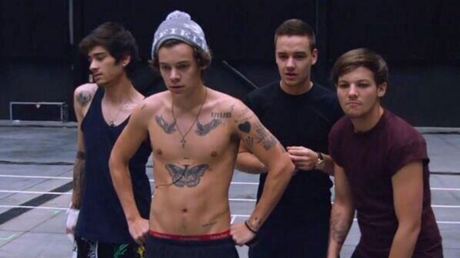 WATCH One Direction This Is Us trailer: Harry Styles and Liam Payne go topless