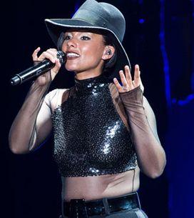 Alicia Keys : La Girl on Fire a illuminé Bercy