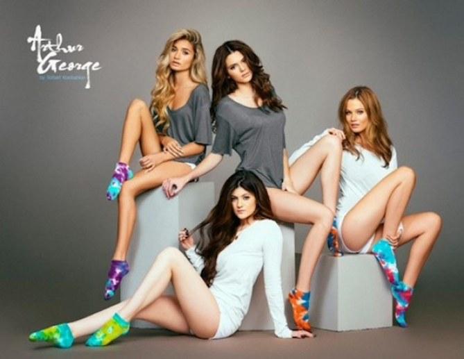 Kendall et Kylie Jenner pour Arthur Georges