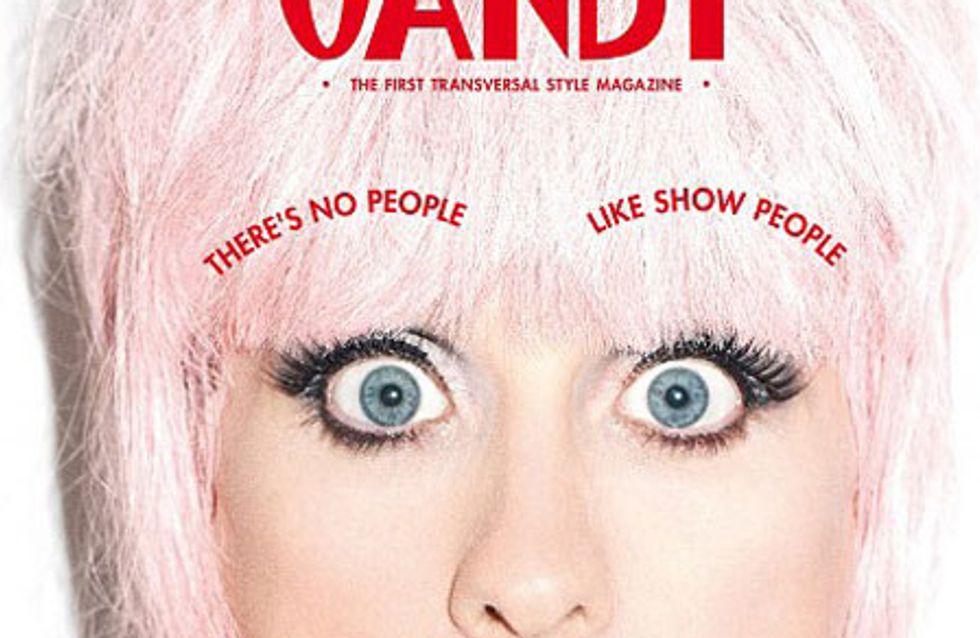 Jared Leto, méconnaissable en femme pour le magazine Candy