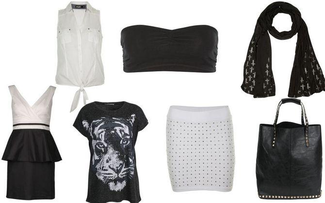 Jennyfer, tendance noir et blanc