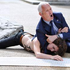 Une Femen presque tuée lors d'une action contre le Premier ministre tunisien