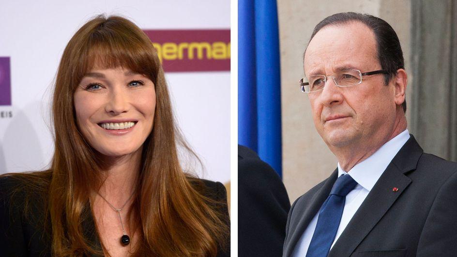 Carla Bruni : Elle prend la défense de François Hollande (Vidéo)