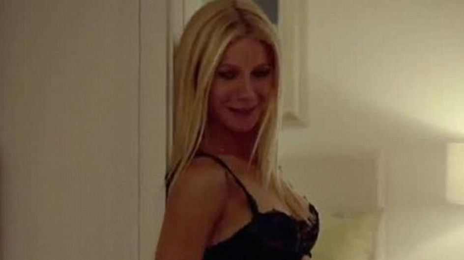 VIDEO Gwyneth Paltrow strips to sexy lace underwear in new film Thanks For Sharing