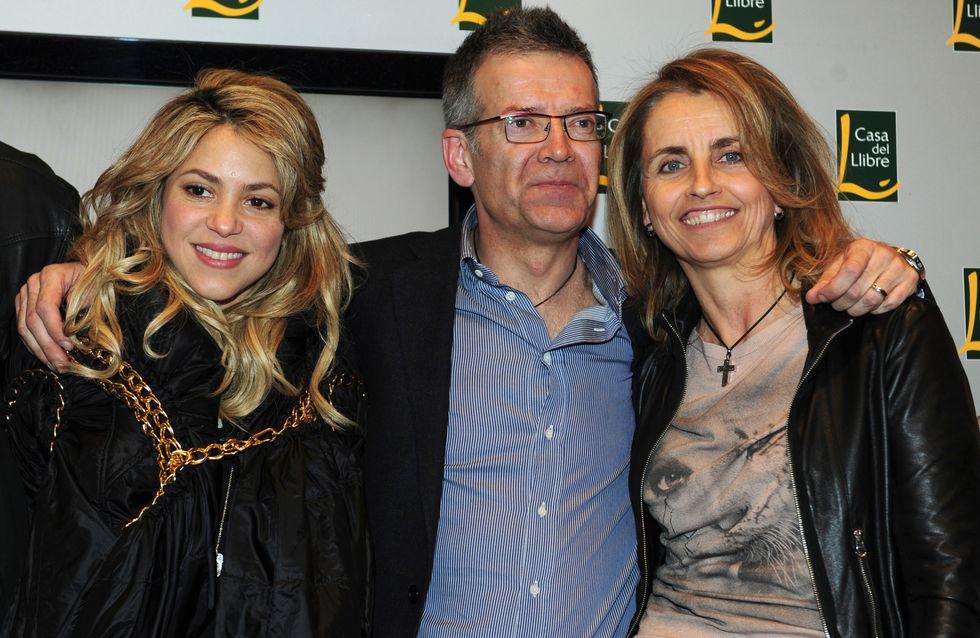 Shakira disfruta de Brasil con los padres de Piqué