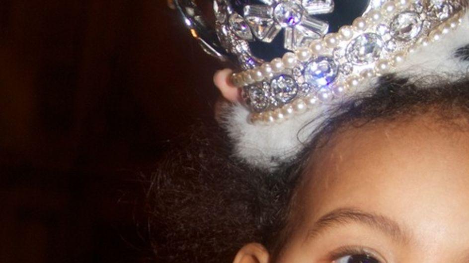 Beyoncé : Sa fille Blue Ivy est une vraie princesse (Photos)