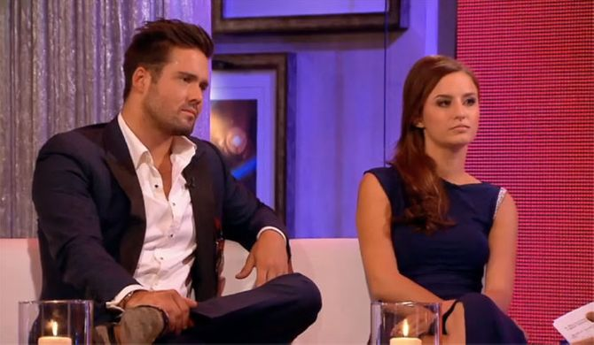 Lucy Watson and Spencer Matthews