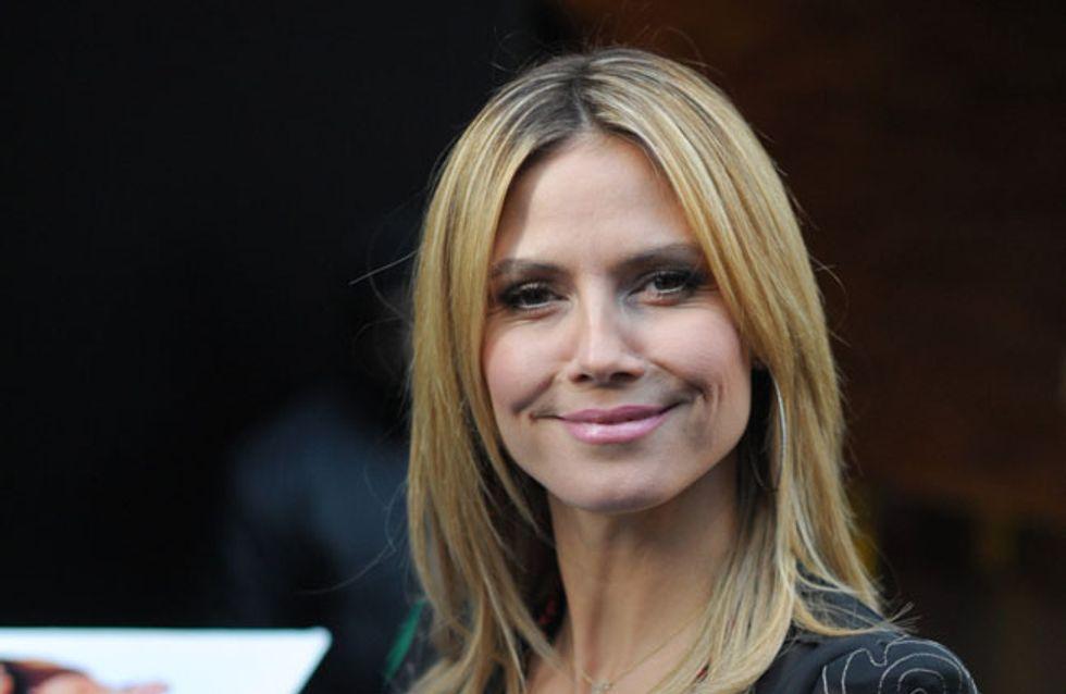 Seltsames Hobby: Heidi Klum bastelt mit Haaren ihrer Kinder