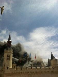 La Rochelle : Effrayant incendie à la mairie