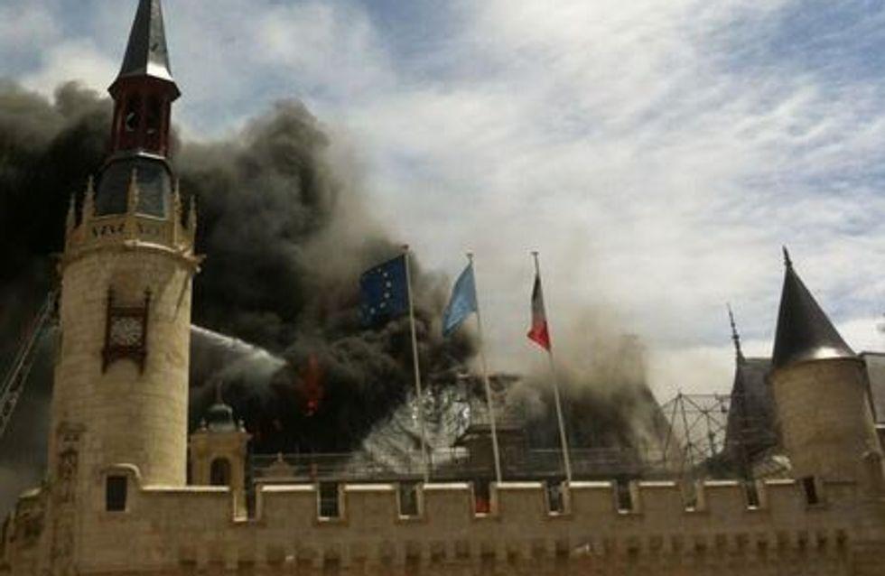 La Rochelle : Effrayant incendie à la mairie (Photos)