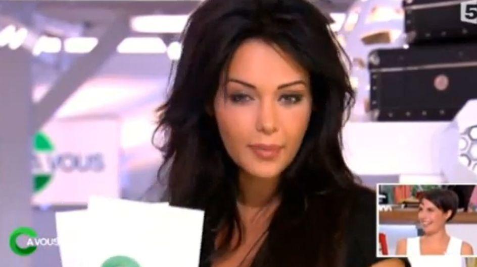 """Nabilla remplace avec humour Alessandra Sublet dans """"C à vous"""" (Vidéo)"""