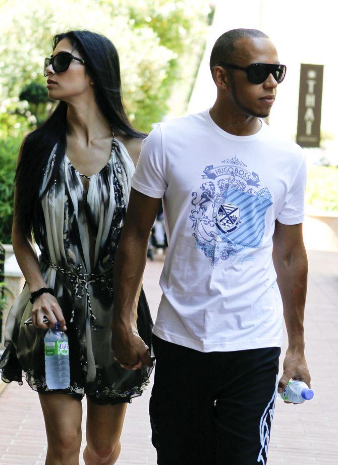 Lewis Hamilton y Nicole Scherzinger