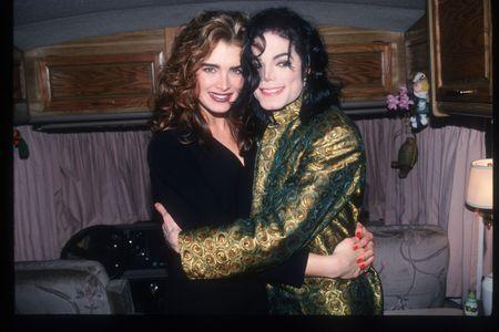 Michael Jackson et Brooke Shields