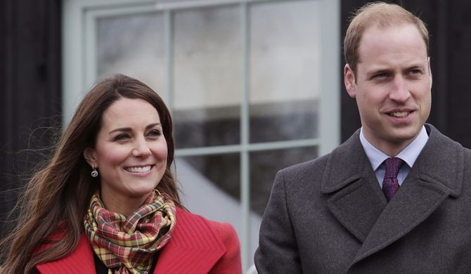 Are Kate and William about to welcome their first born?