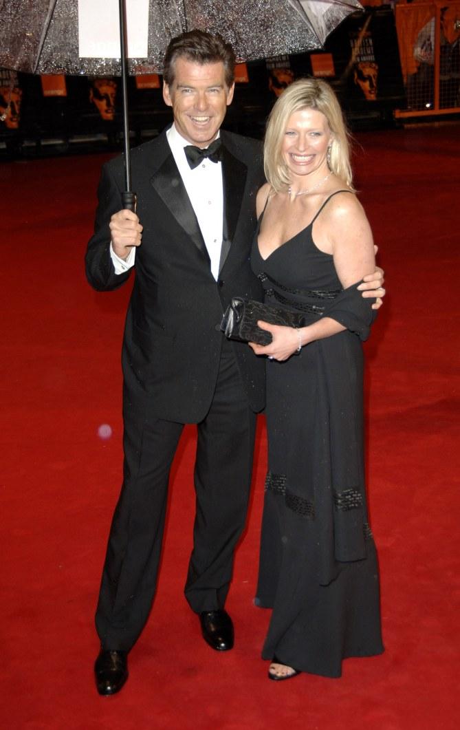 Pierce Brosnan et sa fille Charlotte Brosnan
