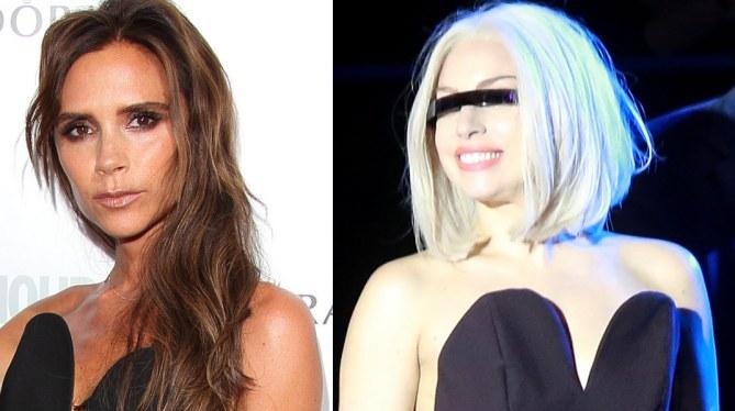 Victoria Beckham et Lady Gaga