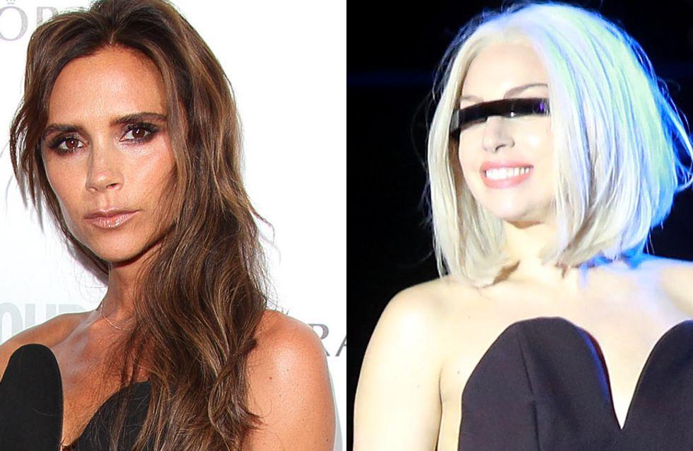 Victoria Bekcham vs Lady Gaga : Qui porte le mieux le combi-pantalon Margiela ? (Photos)