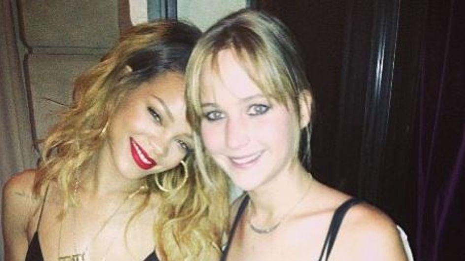 Rihanna et Jennifer Lawrence : Elles s'adorent !