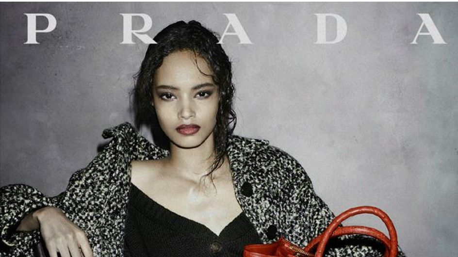 New model alert! Malaika Firth is the face of Prada's new AW13 campaign