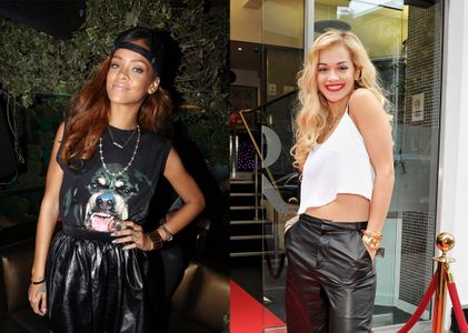 Rihanna et Rita Ora
