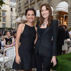 Carla Bruni-Sarkozy et Virginie Ledoyen : Scintillantes pour Bulgari
